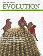 Badyaev, A.V., R.L. Young, K.P. Oh, and C. Addison. 2008. Evolution on a local scale. Evolution 62: 1951-1964.